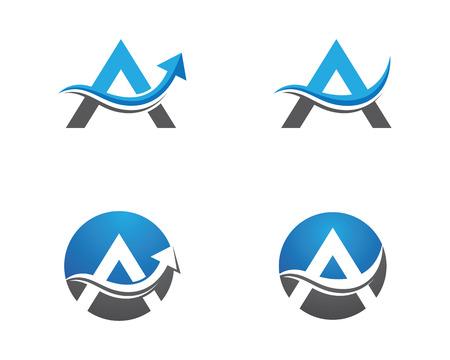 A Letter Logo Logo