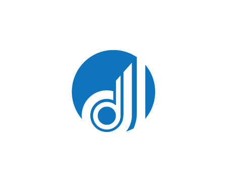 D Letter Logo Illustration
