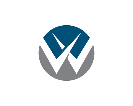 W Letter Logo Vector illustration.