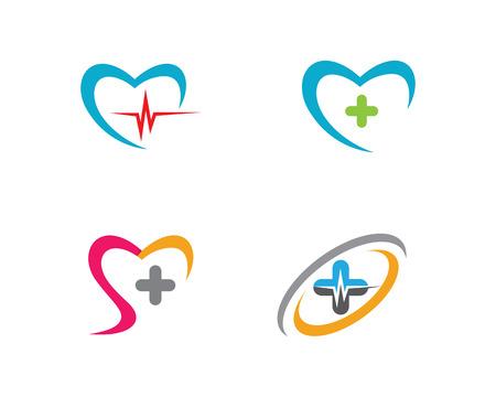 love cloud: Medical Logo template