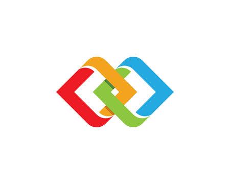 ビジネス企業のロゴのテンプレート