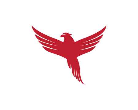 Falcon Logo Template illustration.