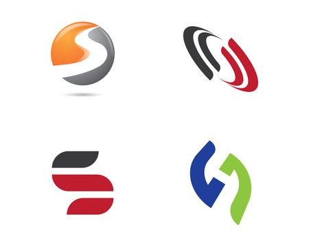 Template letter S Stock Illustratie