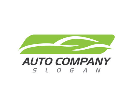 Auto car Logo Template isolated on white background, vector illustration. Фото со стока - 84581782