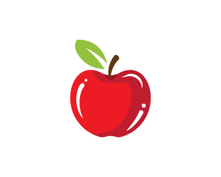 Apple vector illustration design symbol Imagens - 84724909