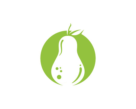Pear Fruit Food Vector Illustration Illustration