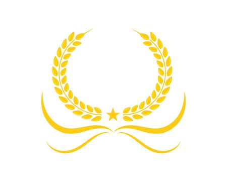 Agriculture wheat Logo Template vector icon design Stock Vector - 84803844