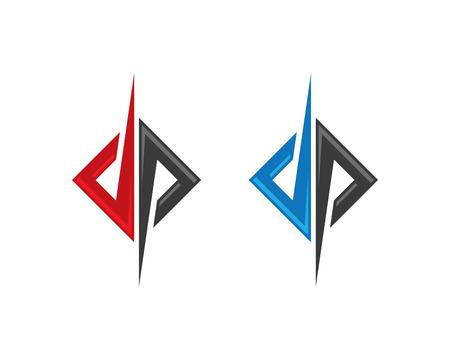 P Buchstaben Logo