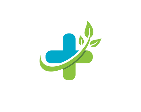 Health Medical Logo template vector illustration design  イラスト・ベクター素材
