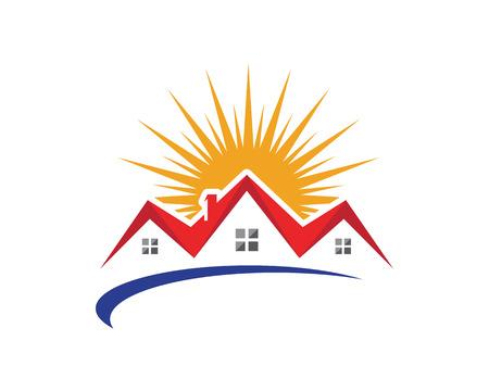 Property Logo Template Ilustração