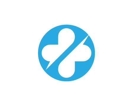 pharmacy symbol: Health Medical template Illustration