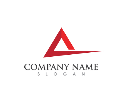 A Letter Logo Business Template Vector icon design