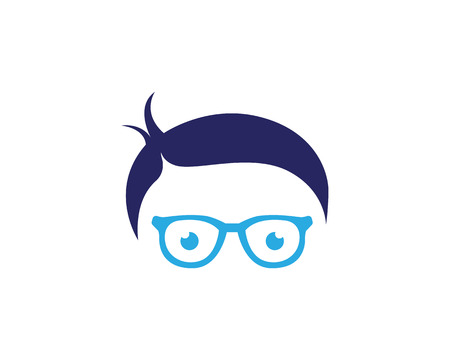 Geek Logo template vector illustration design