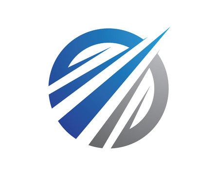 mystic: Faster Logo Template vector icon illustration design Illustration