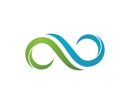 Infinity Design Infinity logo Vector Logo template Фото со стока - 87837158