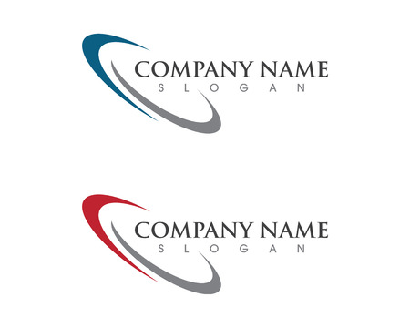Faster Logo Template vector icon illustration design 向量圖像