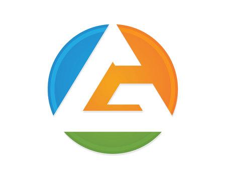 g logo lettre entreprise vecteur icône