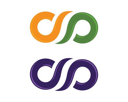 Infinity Design Infinity logo Vector template