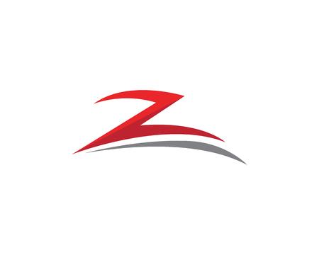 Z Lettre vector illustration icon Logo modèle de conception Banque d'images - 88130945