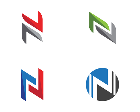 Letter N icon.