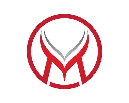 Modèle de lettre M