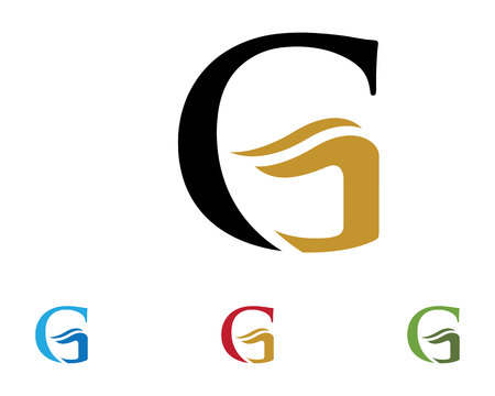 G letter template.