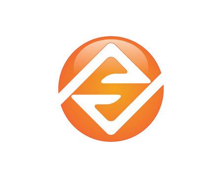 S letter logo Template Illustration