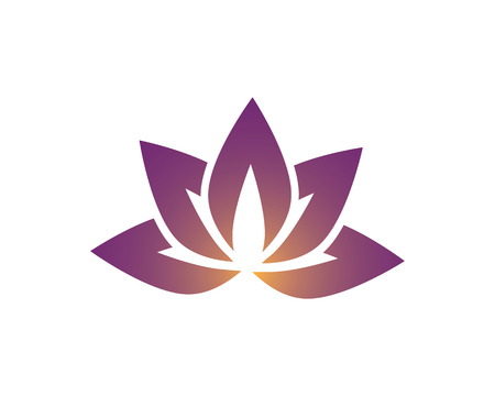 Beauty Vector Lotus flowers design logo Template icon