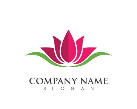 beauté vecteur de conception de logo modèle de fleurs icône