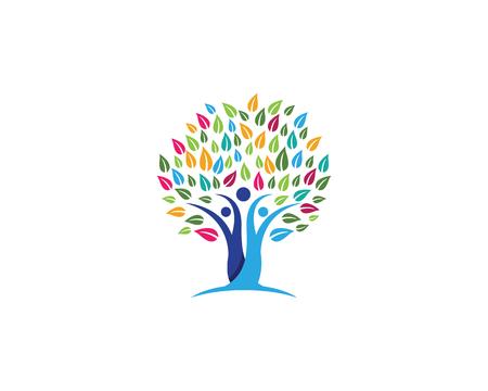 Icône de symbole de l'arbre généalogique Banque d'images - 89440598