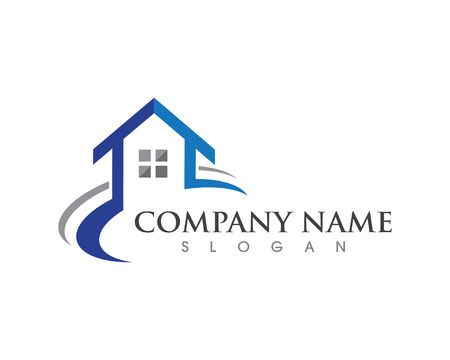 부동산, 건물 및 건축 로고 디자인