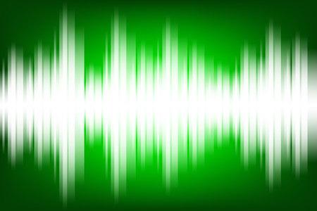 Sound wave light electronic themed background illustration