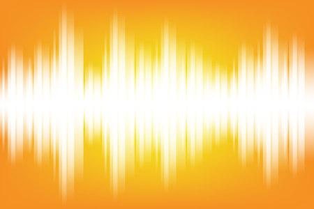 Elektromagnetische themenorientierte Hintergrundillustration des Schallwellenlichtes