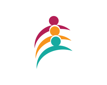 Adoption and community care symbol template design