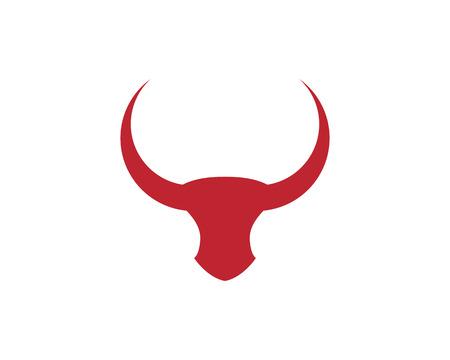 Red Bull Taurus symbol template design