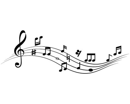 Music note Icon Vector template Vectores