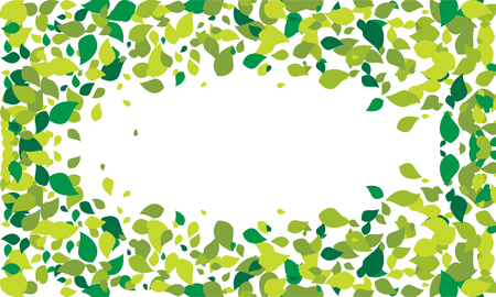 Leaf Background Vector Illustration