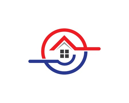 Property and Construction Logo design for business corporate sign   イラスト・ベクター素材