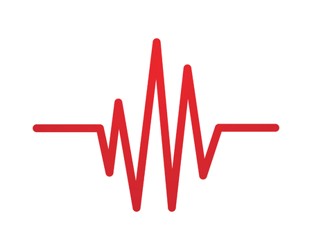 Heartbeat Line Art : Heart beat line stock photos royalty free images