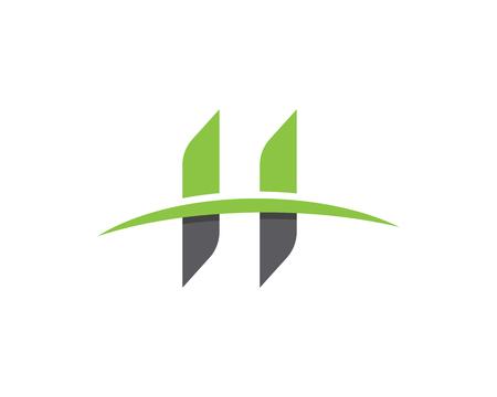 H Letter Logo Business professionelle Logo Vorlage Standard-Bild - 92715802