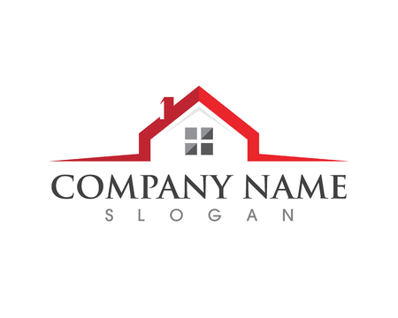 Real Estate , Property and Construction Logo design Çizim