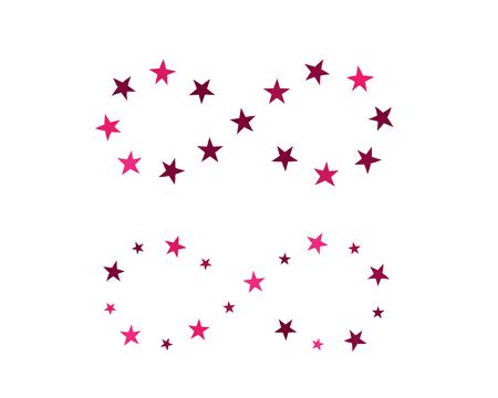 インフィニティデザインベクターイラスト ロゴ テンプレートデザイン 写真素材 - 94045493