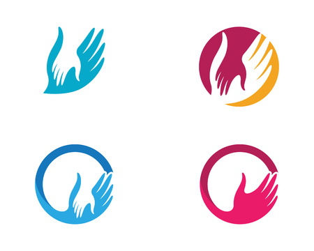 Hand Care icon Template vector icon Business