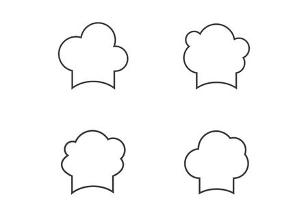 Chef Hat Logo Template Vector Illustration Royalty Free Cliparts ...
