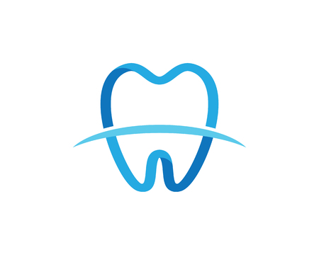 歯科ロゴ テンプレート ベクトル イラストアイコンデザイン  イラスト・ベクター素材