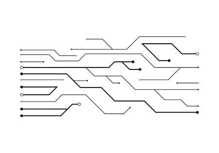 Circuit illustration design vector Ilustrace