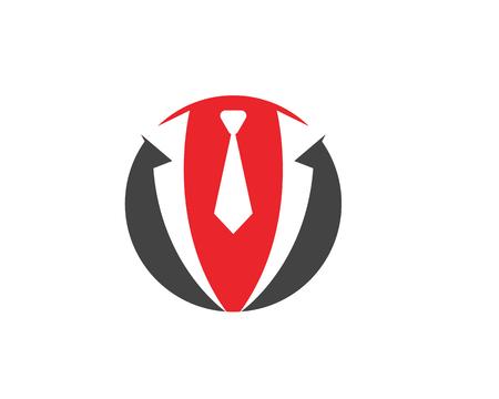 Tuxedo Logo template vector icon illustration design Vectores
