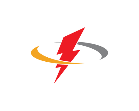 Lightning Logo Template Vectores