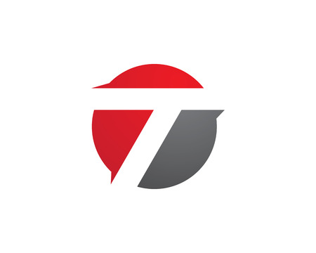 Letter T logo concept  design template Illustration