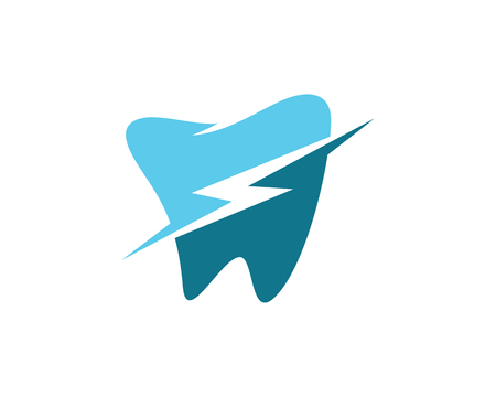 Dental logo Template vector illustration icon design. 矢量图像